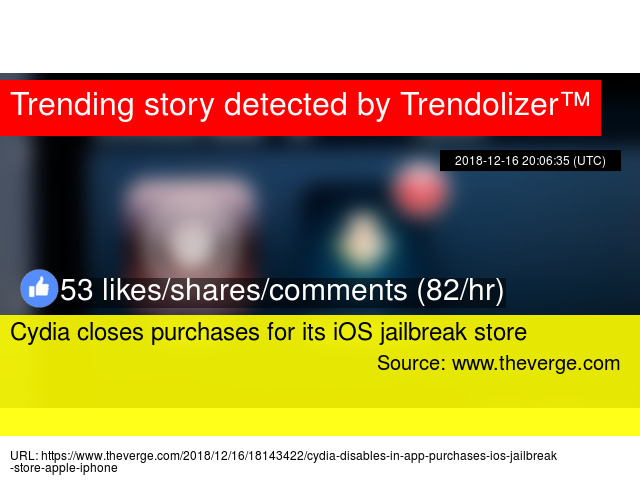 Cydia closes purchases for its iOS jailbreak store