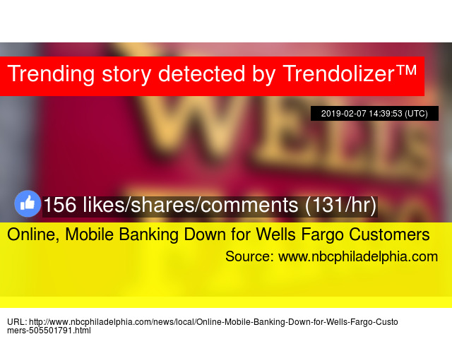 Online, Mobile Banking Down for Wells Fargo Customers