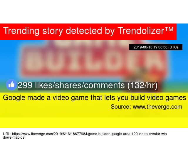 Google made a video game that lets you build video games