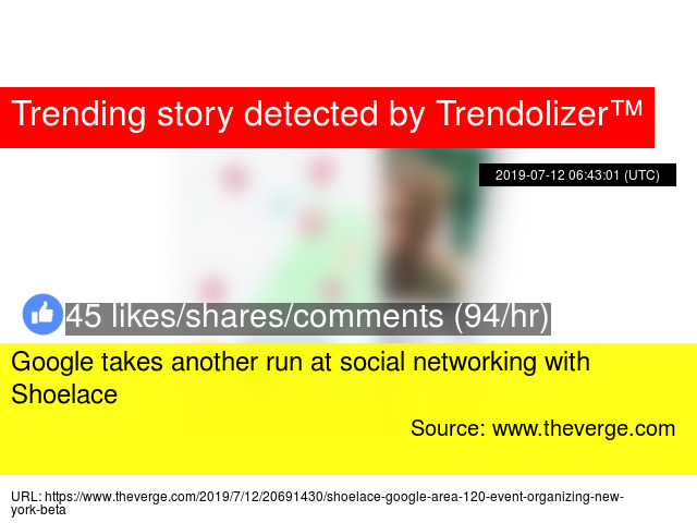 Google takes another run at social networking with Shoelace