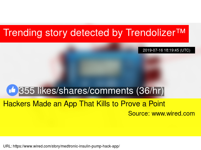 Hackers Made an App That Kills to Prove a Point