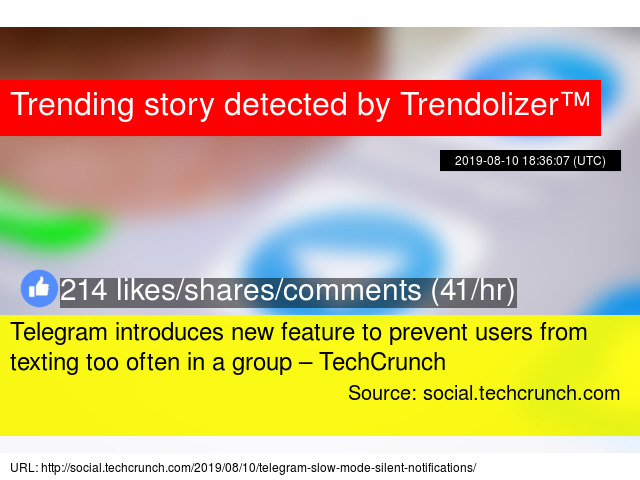 Telegram introduces new feature to prevent users from texting too
