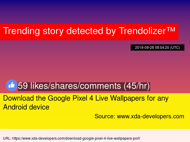 Download The Google Pixel 4 Live Wallpapers For Any Android