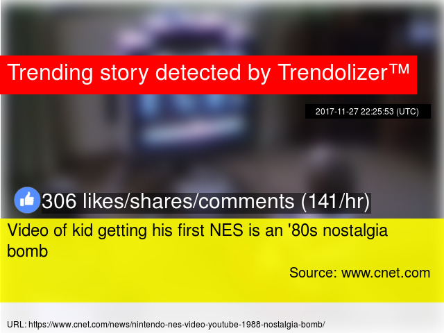 Video of kid getting his first NES is an '80s nostalgia bomb