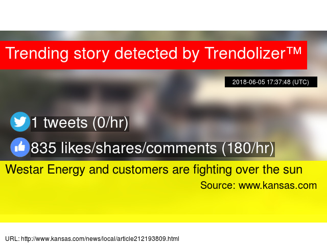 Westar Energy and customers are fighting over the sun