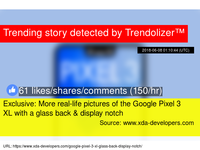 Exclusive: More real-life pictures of the Google Pixel 3 XL with a