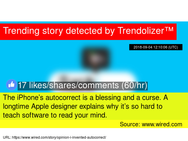 The iPhone\'s autocorrect is a blessing and a curse. A longtime Apple ...