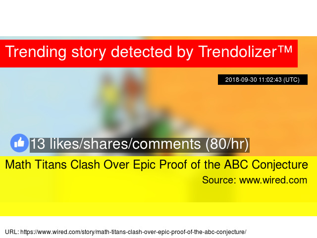 Math Titans Clash Over Epic Proof of the ABC Conjecture